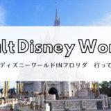 【WDW旅行記】ディズニーワールドin フロリダへ行ってきた!ープロローグ編ー