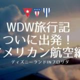 【WDW旅行記】アメリカン航空でダラスへ出発!