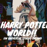 【フロリダ旅行番外】いざハリーポッターの世界へ!〜ユニバーサル・オーランド編〜